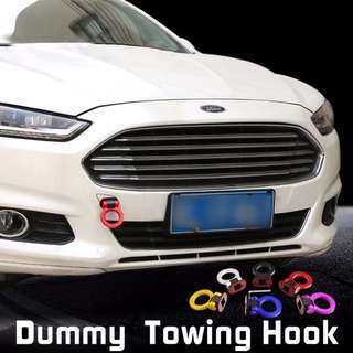 Dummy Towing Hook universal Plastic decorative towing hook Front Bumper display only