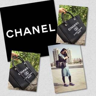 Channel Bags available in 3 colours / pre-ordered