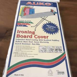 Silver ironing cover