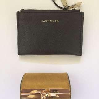 Authentic Karen Millen and Parfois Coin Purses