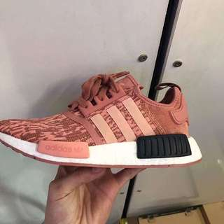 BN authentic adidas NMD R1 Raw Pink/ Trace Pink/ Legend Ink