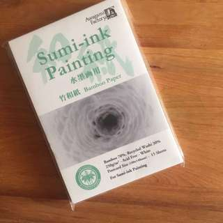 Bamboo Paper For Sumi Ink Calligraphy And Acrylic Painting
