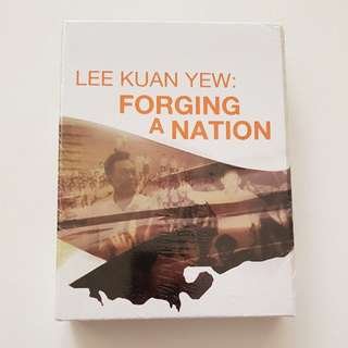 Lee Kuan Yew Forging a Nation dvd