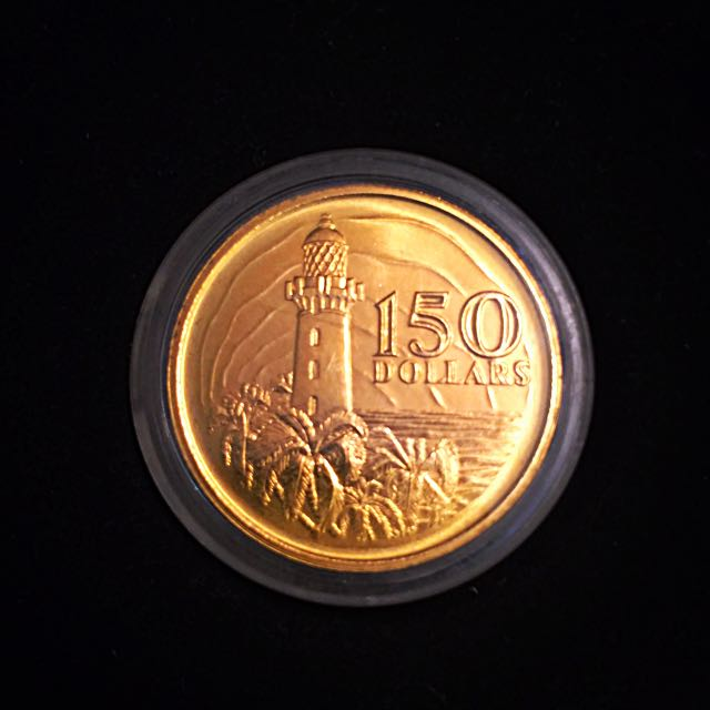 1819 1969 Singapore 150 Gold Coin Years Anniversary Of The Founding Vintage Collectibles Currency On Carou