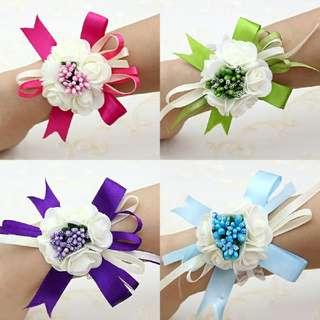 Wholesale Wedding Bridesmaids Corsage Wrist Flower