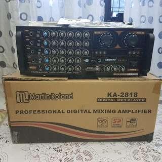 Brand New Martin Roland KA-2818 Professional Digital Mixing Amplifier