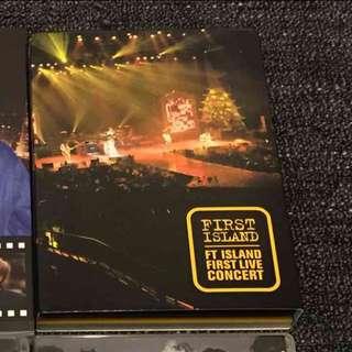 (絕版)FTISLAND 首場演唱會DVD FIRST ISLAND