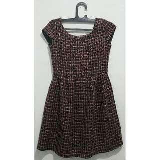 Purple Mini Dress -Minimal
