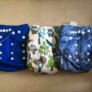 cloth diaper and  cloth nappy liner