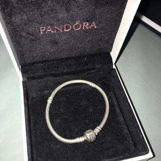 Pandora Silver Charm Bracelet 17cm