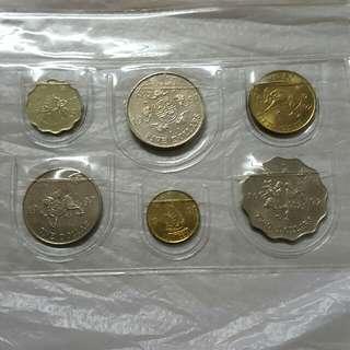 香港回歸紀念幣套裝---(6個)    $ 58/套