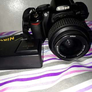 Nikon DsLR D3100 With Bag With Battery With Sd Card