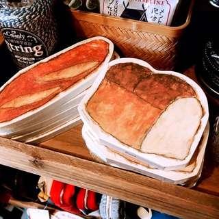日本選物:: 麵包造型日製和紙便箋