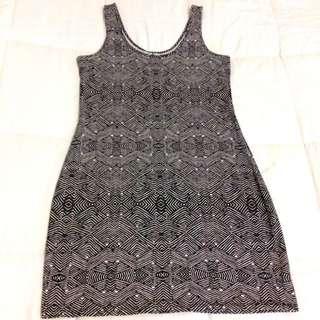 MOSSIMO Mosaic Print Dress