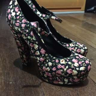 F21 Mary Jane Platform Shoes