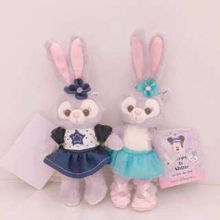 StellaLou 史黛拉兔站姿吊飾   牛仔裙 Duffy好朋友 達菲 日本東京迪士尼海洋 2017新朋友 正版 史黛拉兔穿舞衣吊飾