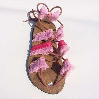 Bohemian sandal
