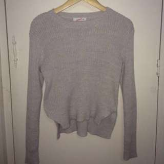 Knitted lilac purple jumper, XS-S