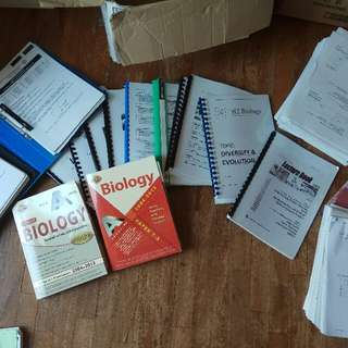 H2 Biology (2015 Syllabus) Lecture Notes, Tutorials, Tution notes and Books