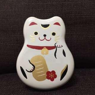 日本招財貓 便當盒