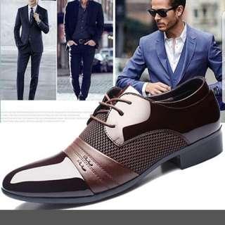 Brown Size 10 Dress Shoe