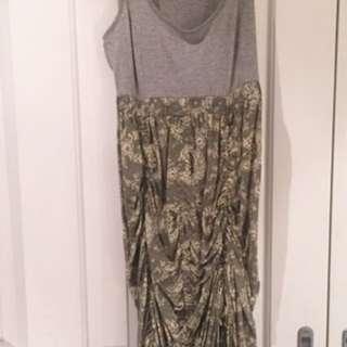 Boho Indi maxi dress size 8