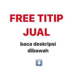 FREE TITIP JUAL