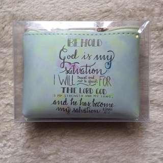 Bible Verse Coin Purse (Isaiah 12:2)