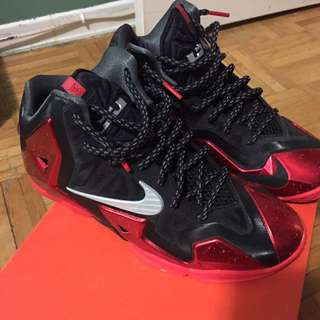 Lebron XI size 6 YOUTH