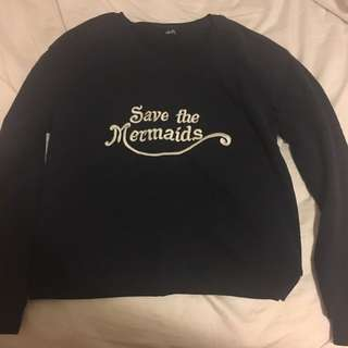 Save the Mermaids Jumper