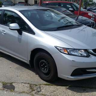 2014 HONDA CIVIC LX 17KM