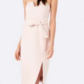 Forever New Belted Pencil Dress