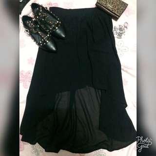 FOREVER21 High Low Skirt