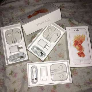 [SET] Apple iPhone Earpods + Charger