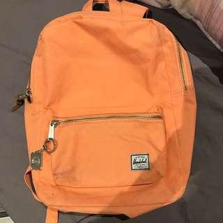 Preloved HERSCHEL Peach Backpack