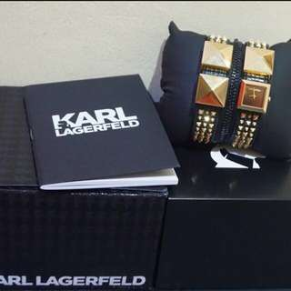 Authentic karl lagerfeld watch