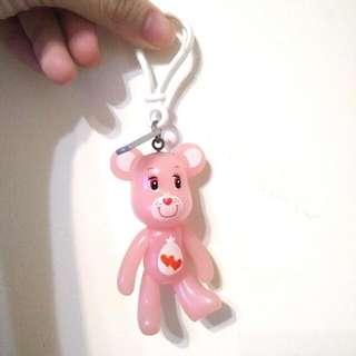 粉紅小熊 吊飾鑰匙圈
