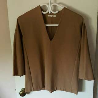 Oak And Fort Size Small 3/4 Length Top