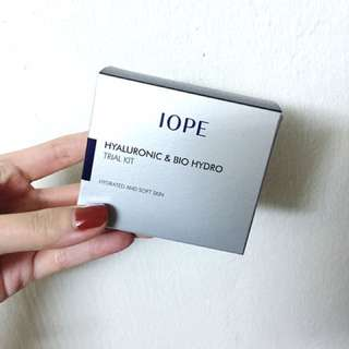 IOPE Hyaluronic & Bio Hydro Trial Kit