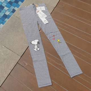 COTTON ON KIDS Snoopy Legging size 7 (brand new).