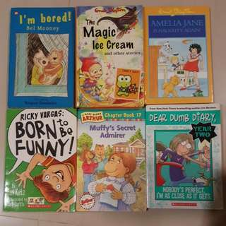 Enid Blyton and Others 6 For $10