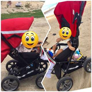 Brio stroller made from europe