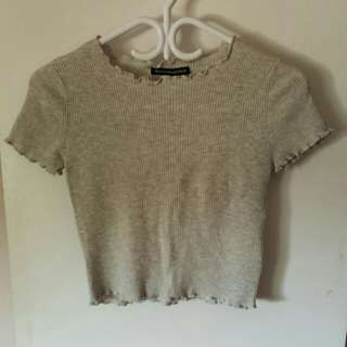 Size Small Brandy Melville Grey Shirt