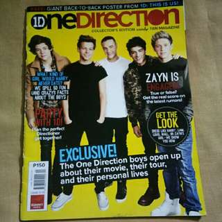 ONE DIRECTION: Collector's Edition Candy Fan Magazine