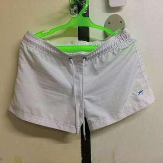 Speedo White Shorts