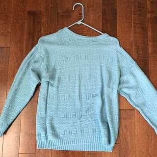 Vintage Blue Sweater