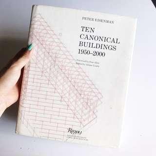 Rare Copy of Ten Canonical Buildings 1950 - 2000