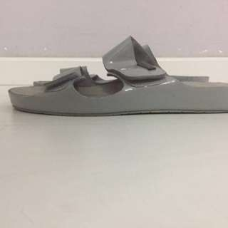 Grey Calvin Klein sandals