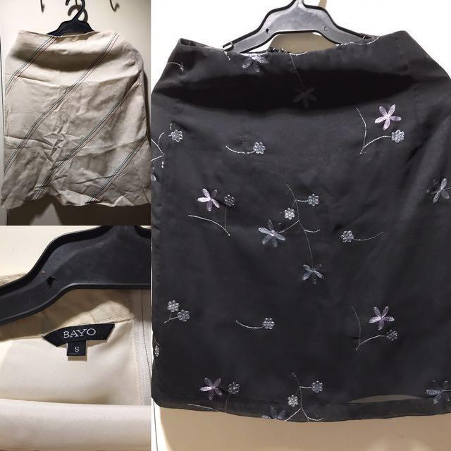 2 pieces Pencil Skirt