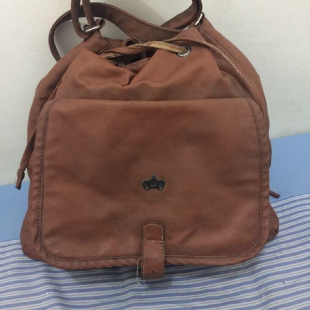 3second coklat sling bag